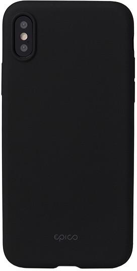 EPICO GLAMY pružný plastový kryt pro iPhone X - černý
