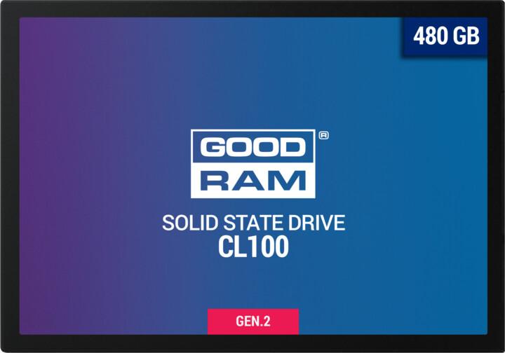 """GOODRAM CL100 Gen. 2, 2,5"""" - 480GB"""