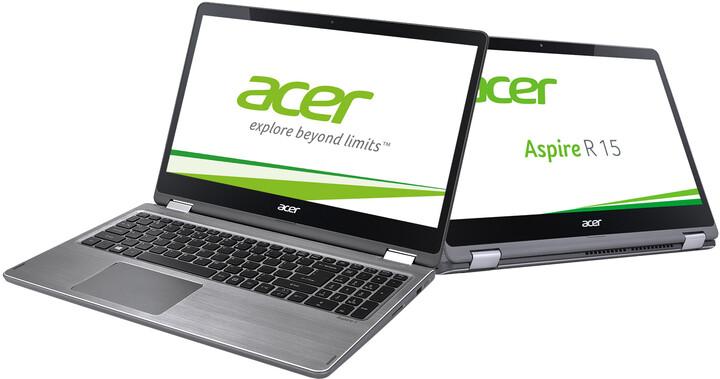 Acer Aspire R15 (R5-571T-52C1), šedá