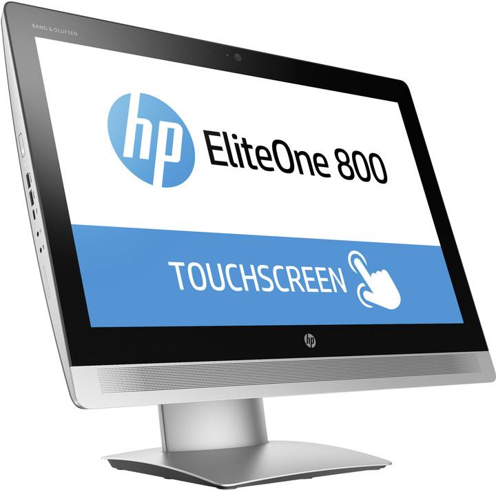 HP EliteOne 800 G2 Touch, stříbrná