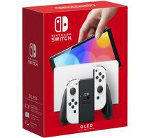 Nintendo Switch – OLED Model, bílá - NSH008
