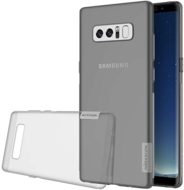 Nillkin Nature TPU Pouzdro pro Samsung N950 Galaxy Note 8 - šedé