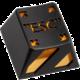 """ZOMOPLUS """"ESC"""", MX stem, černá/oranžová"""