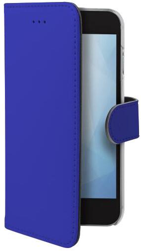 CELLY pouzdro typu kniha Wally pro Apple iPhone Xr, modré