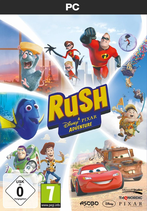 Rush: A Disney - Pixar Adventure (PC)