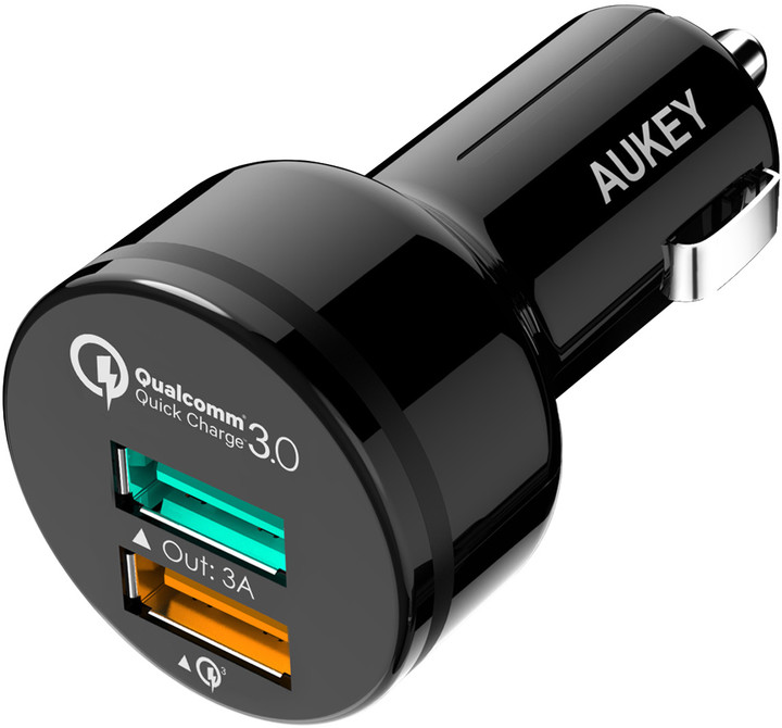 Aukey 2-Port 33W Car Charger