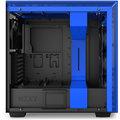 NZXT H700i, Matte Black/Blue