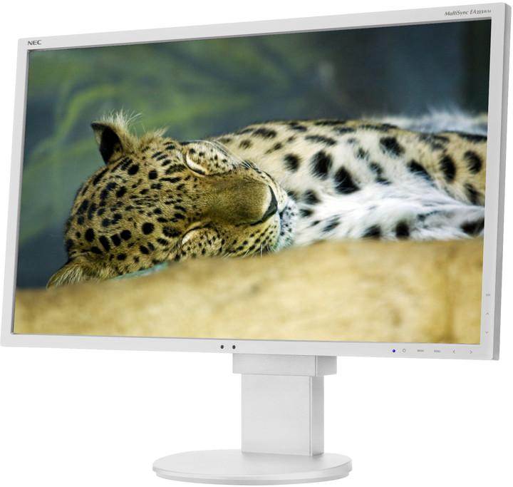 """NEC MultiSync EA223WM, bílá - LED monitor 22"""""""