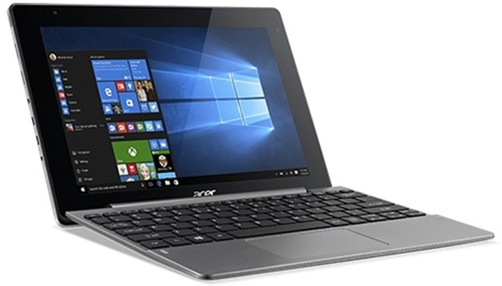 Acer Aspire Switch 10V (SW5-014-16WU), šedá