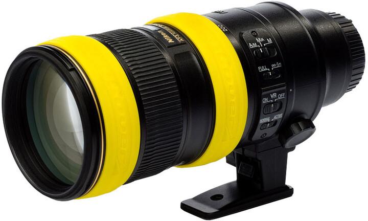 Easy Cover univerzální chrániče pro objektivy, žlutá