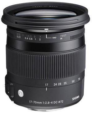 SIGMA 17-70mm F2.8-4 DC MACRO OS HSM pro Canon