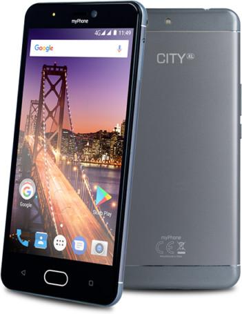 myPhone CITY XL, stříbrná