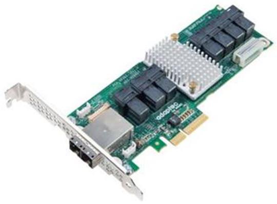 Microsemi Adaptec® Expander 82885T Single SAS 36 portů (28x int., 8x ext.), x4 PCIe