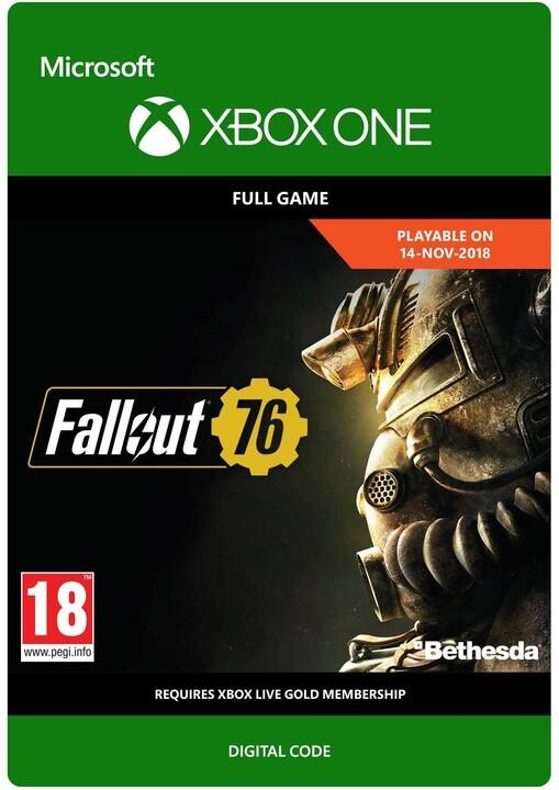 Fallout 76 (Xbox ONE) - elektronicky