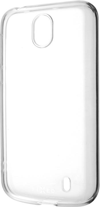 FIXED TPU gelové pouzdro pro Nokia 1, čiré
