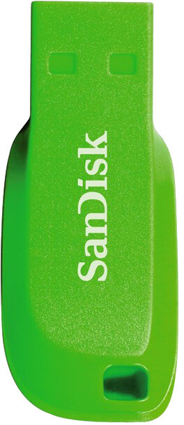 SanDisk Cruzer Blade - 16GB, elektricky zelená