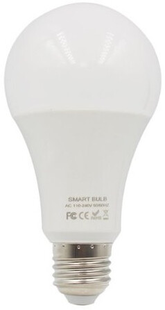 iQtech SmartLife chytrá žárovka, E27, LED, 10W, Wi-Fi, RGBW