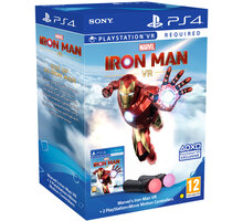 Marvel's Iron Man VR + PlayStation Move Twin Pack