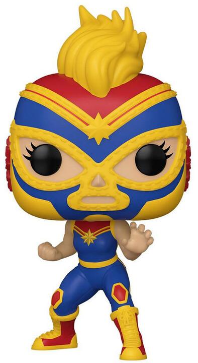 Figurka Funko POP! Marvel - La Estrella Cósmica Captain Marvel