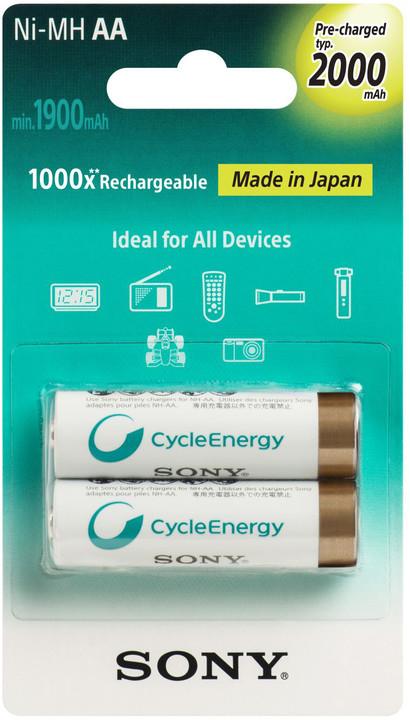 Sony NiMH nabíjecí baterie AA / 2000 mAh / 2 ks v blistru