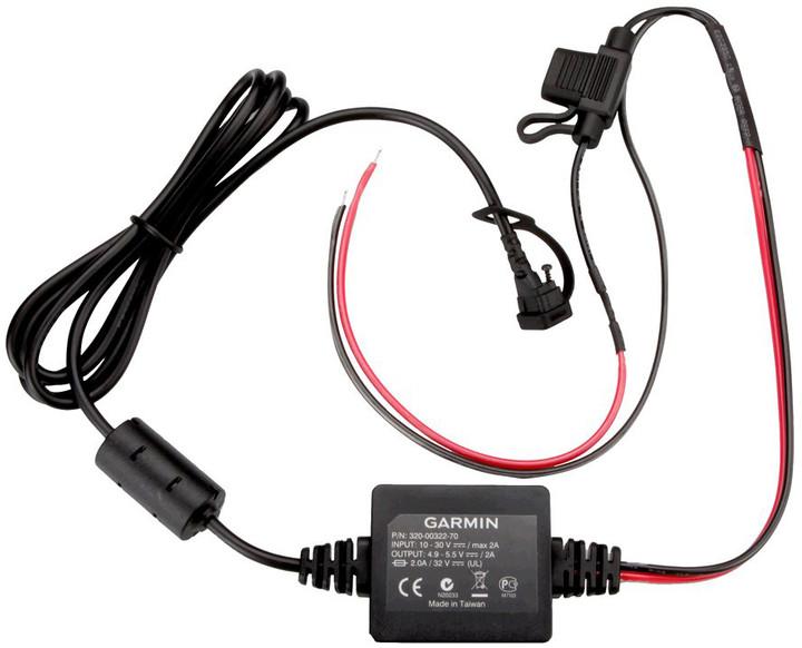 Garmin kabel napájecí motocyklový pro zümo 3xx s volnými konci