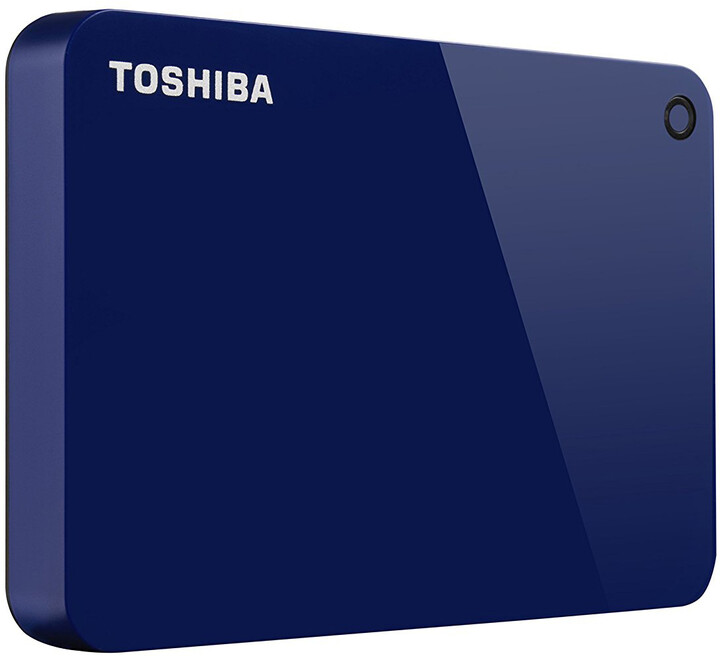 Toshiba Canvio Advance - 1TB, modrá