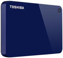 Toshiba Canvio Advance - 1TB, modrá - HDTC910EL3AA