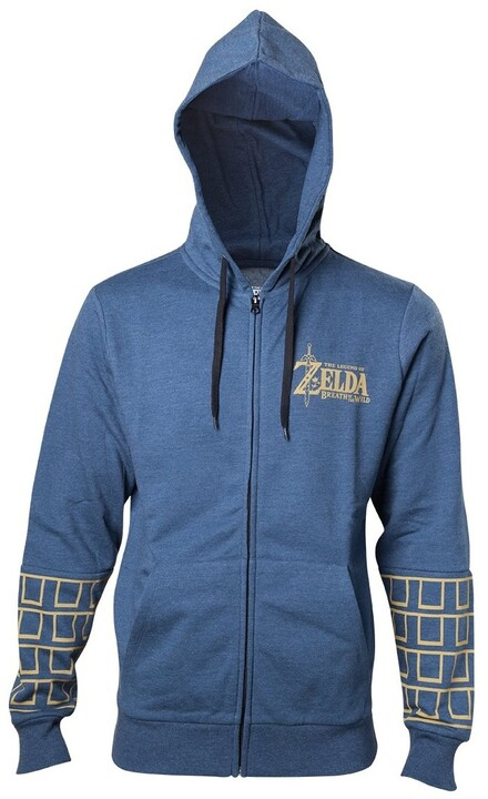 The Legend of Zelda: Breath of the Wild - Gold Logo (XXL)