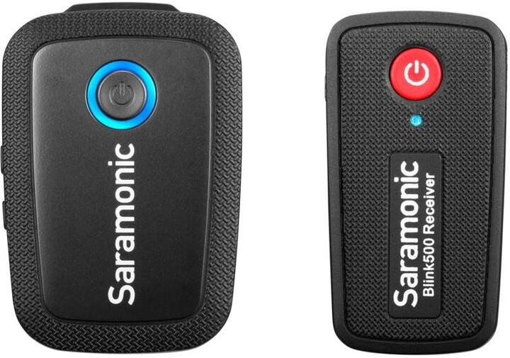 Saramonic Blink 500 B1 (TX+RX), mikrofon s přijímačem