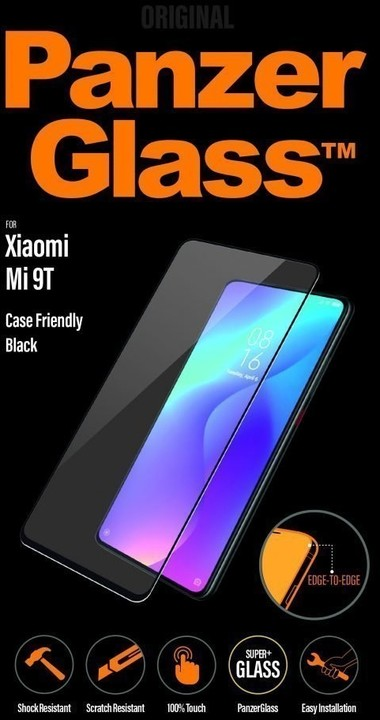 PanzerGlass Edge-to-Edge pro Xiaomi Mi 9T/9T Pro, černá