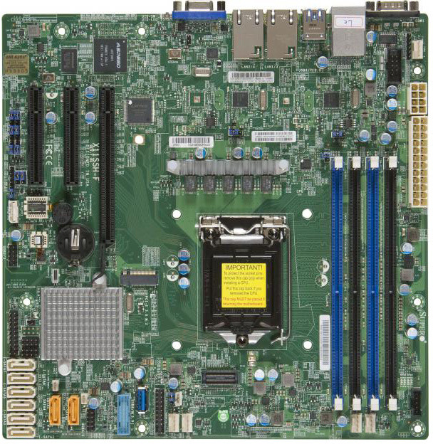 SuperMicro X11SSH-F - Intel C236