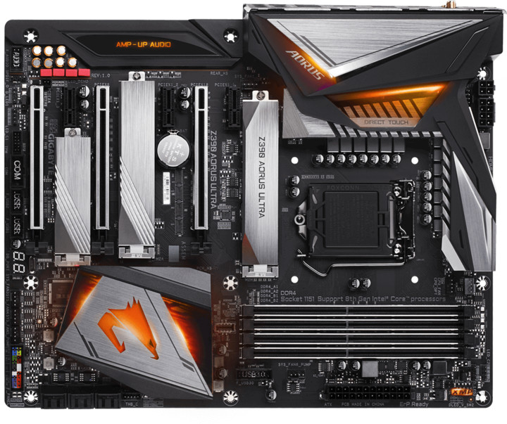 GIGABYTE Z390 AORUS ULTRA - Intel Z390
