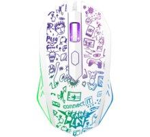 CONNECT IT Doodle Limited Edition, bílá - CMO-1144-DD