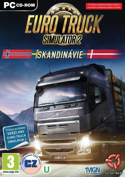 Euro Truck Simulator 2: Skandinávie - PC