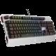 KB CZC Crusader GK800, herní, Outemu Red, RGB LED, stříbrná, CZ/SK v ceně 1299,- Kč