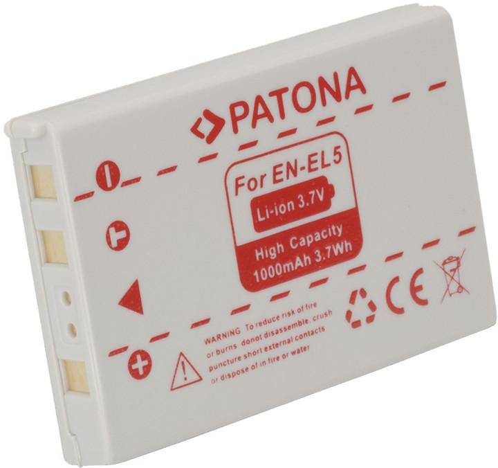 Patona baterie pro Nikon EN-EL5 1000mAh