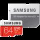 Samsung Micro SDHC karta 64GB EVO Plus (Class 10 UHS-3) + SD adaptér v hodnotě 799 Kč