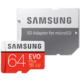 Samsung Micro SDXC EVO Plus 64GB UHS-I U3 + SD adaptér