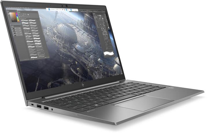 HP Zbook 14 Firefly G8, šedá