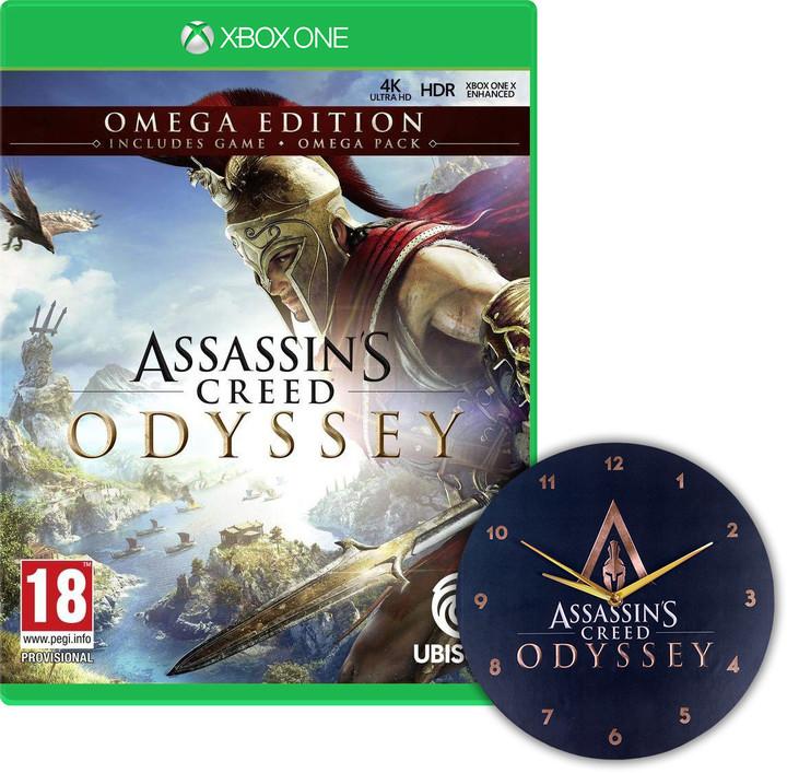 Assassin's Creed: Odyssey - Omega Edition (Xbox ONE) + Hodiny
