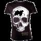 Assassin's Creed IV Skull, černé (L)