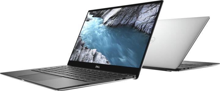 Dell XPS 13 (9380) Touch, stříbrná