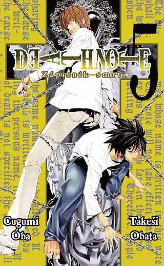 Komiks Death Note - Zápisník smrti, 5.díl, manga