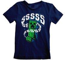 Tričko Minecraft: Creeperssss, dětské, (7-8 let) - MIN01420TKC7-8