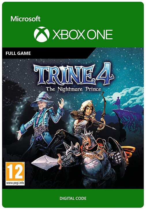 Trine 4: The Nightmare Prince (Xbox ONE) - elektronicky