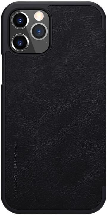 """Nillkin pouzdro Qin Book pro iPhone 12/ 12 Pro (6.1""""), černá"""