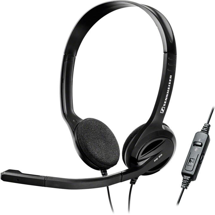 Sennheiser PC 36 CALL CONTROLL, černá