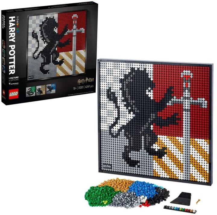 LEGO® Art 31201 Harry Potter™ Erby bradavických kolejí
