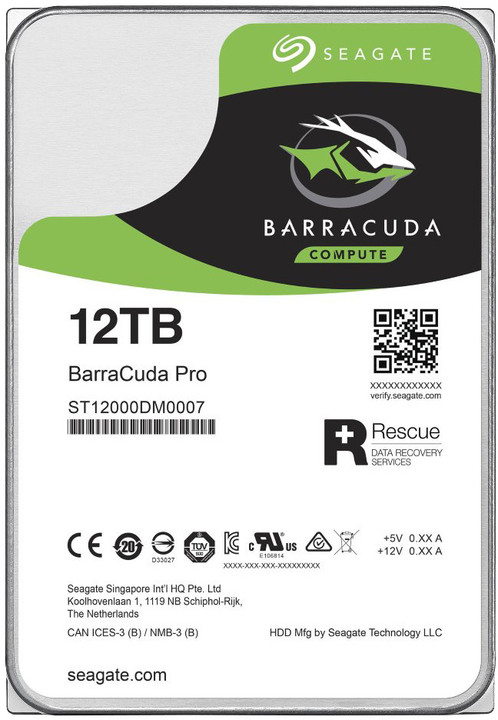 Seagate BarraCuda Pro - 12TB