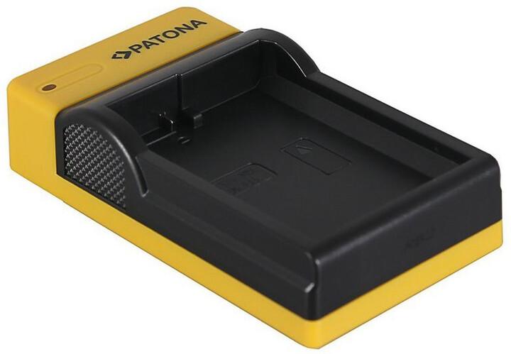 Patona nabíječka Foto Nikon EN-EL14 slim, USB